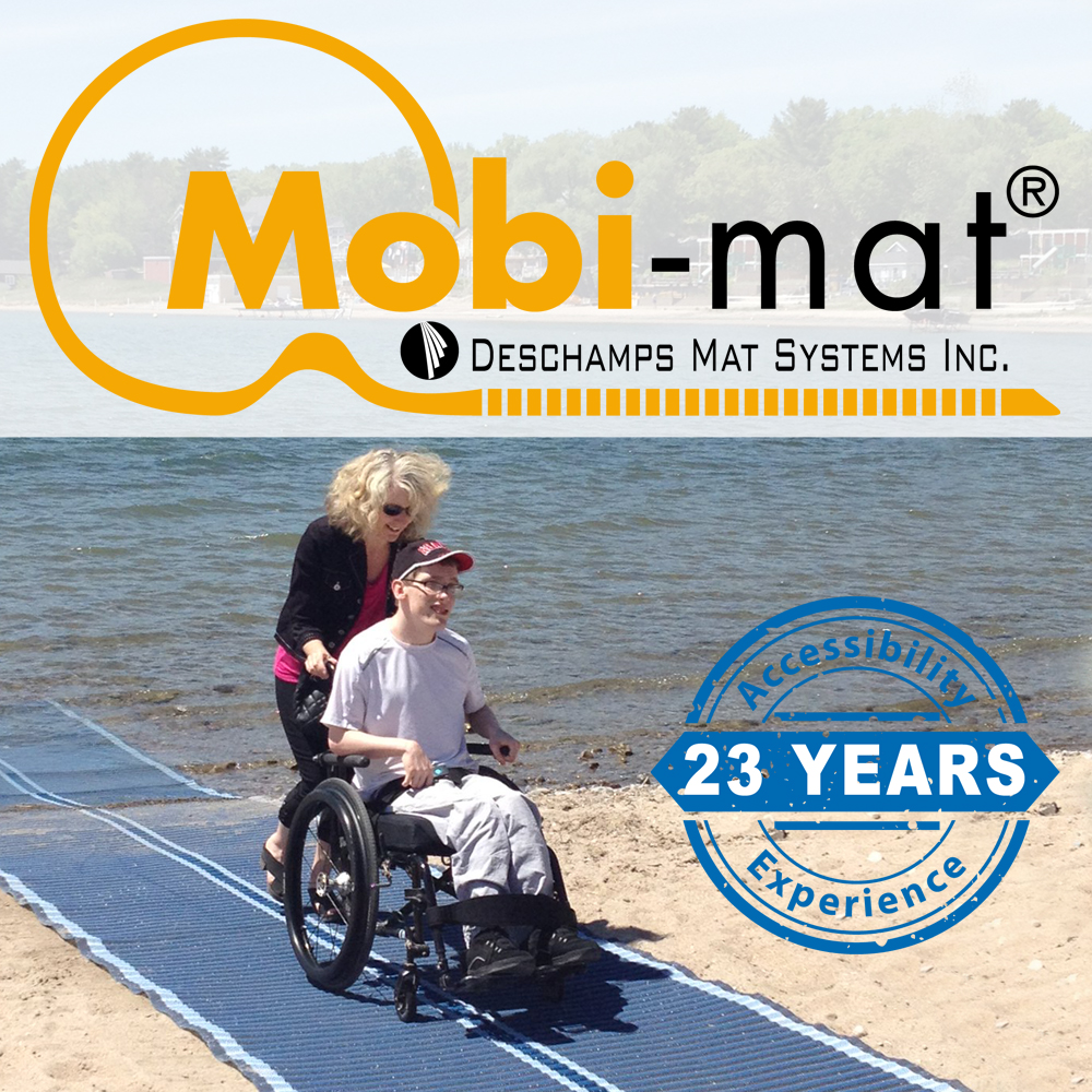 Mobi Mat 174 Portable And Removable Roll Out Mat By Dms Inc