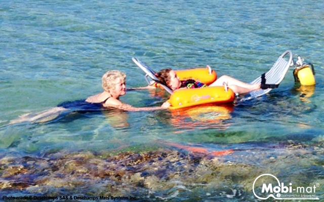 Floating Beach Wheelchair Mobi Chair 174 By Dms Inc