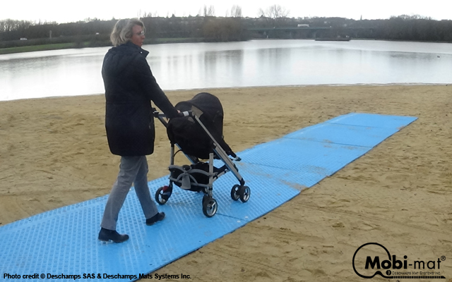 MobiDeck by Mobi-Mat® - Rigid Mat Panel